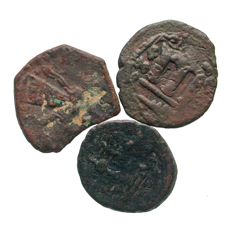 Byzantine (300-1400 Ad) Unresearched Ancient Byzantine Bronze Coin Reasonable Price Coins & Paper Money