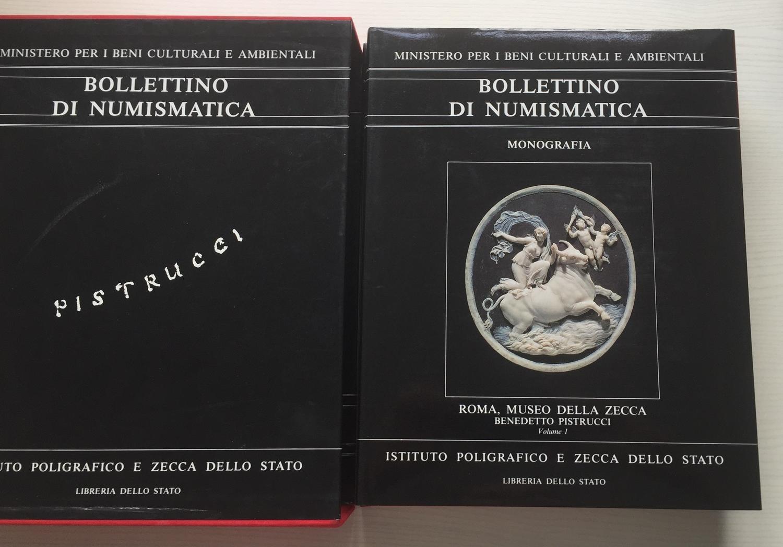 Libro Bollettino Di Numismatica 1 Istituto Poligrafico Zecca Stato 1983 Monete Coins & Paper Money