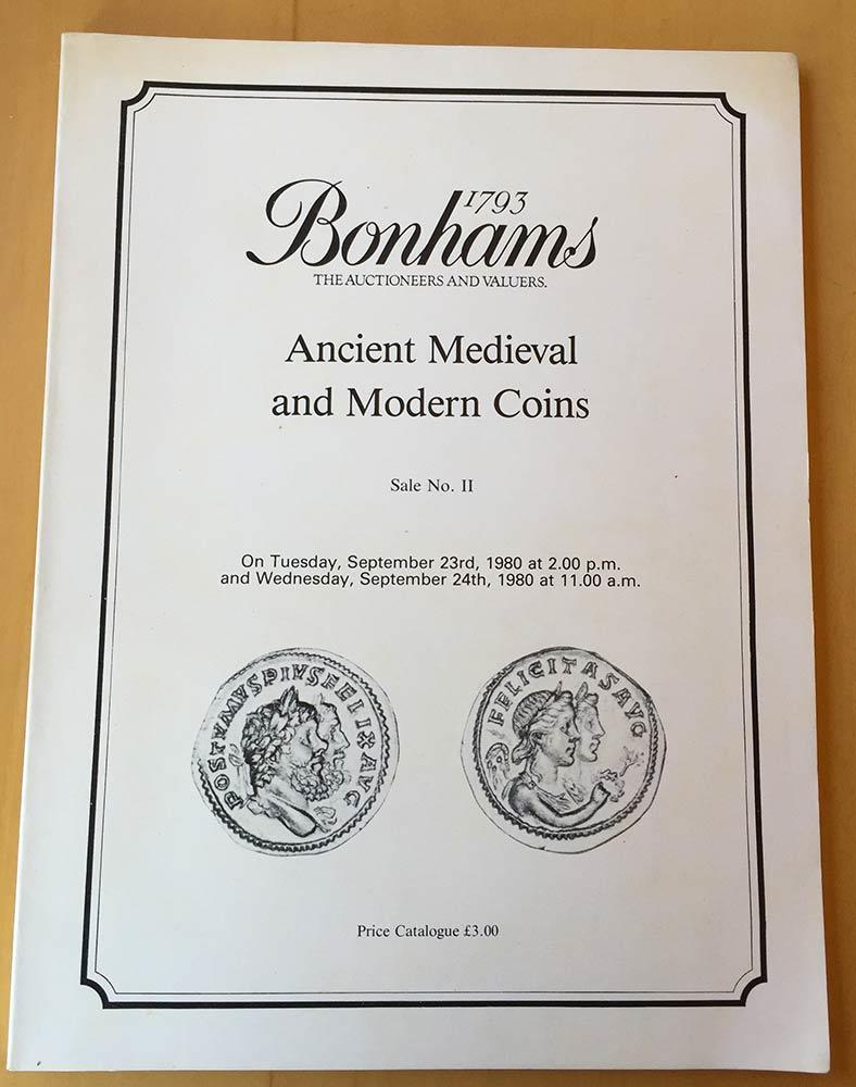 NumisBids: Bertolami Fine Arts E-Auction 63, Lot 2038 : Bonhams in  association with V.C. Vcchi & Sons. Sale No. II. A..