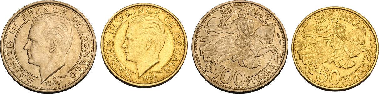 10 CENTIMES UNC COIN 1979 YEAR KM#142 RAINIER III MONACO