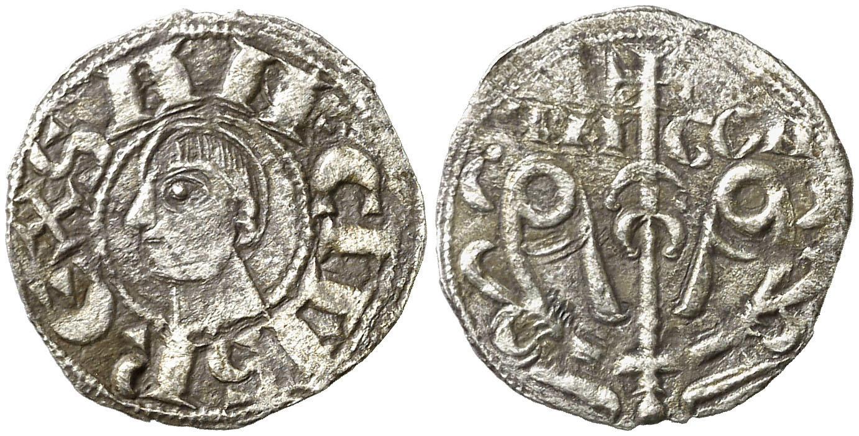 Dinero de Sancho Ramírez (Jaca, 1063-1094). Image01257