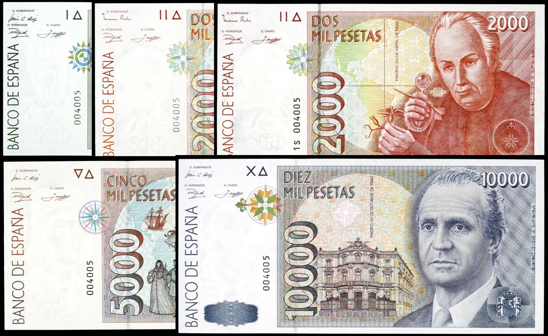Fotos de billetes de 10000 pesetas 74
