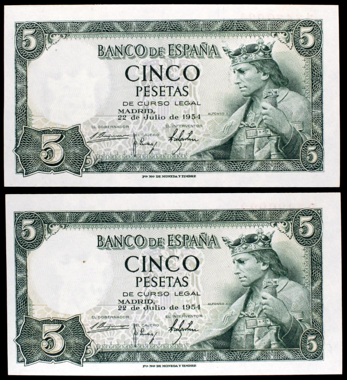 NumisBids: Aureo & Calicó S L  Auction 314, Lot 4701 : 1954