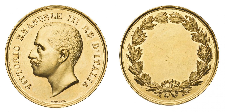 Superb Medaglie Italiane Regno Du0027Italia   Vittorio Emanuele III (1900 1946)   Medaglia  Premio Senza Data   Opus Filippo.