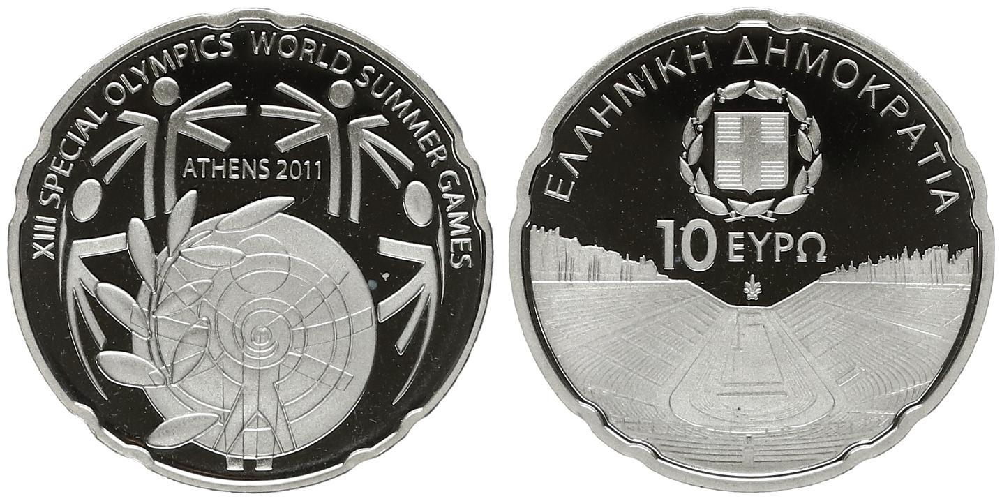 2011 Estonia 10 Cent Coin Unc from Roll BU Nice KM# 81