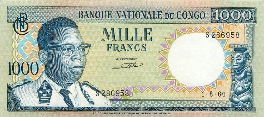 Reproduction BURUNDI 1000 FRANCS 1964 UNC