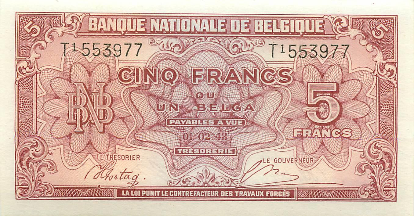 1982-1998 Belgium Belgie 500 Francs Sign 5 Sign 15 P 143a UNC