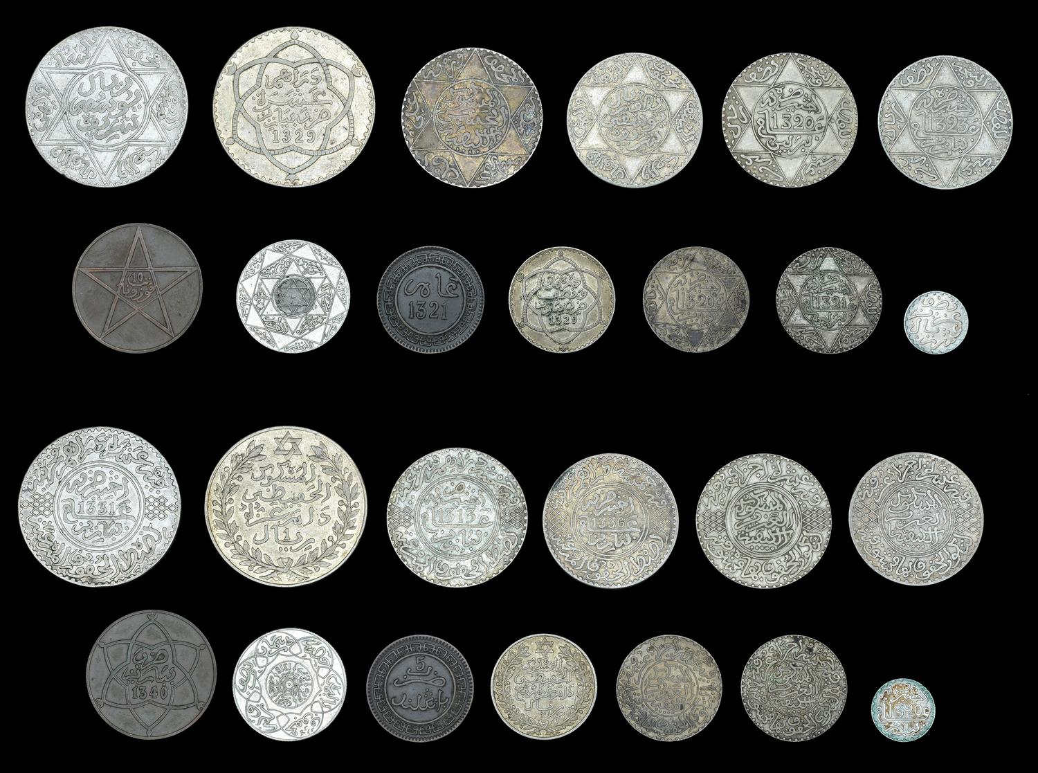 NumisBids Dix Noonan Webb Auction 147 Lot 2225 World Coins From Various Properties WORLD COINS Morocco Abd
