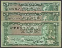 Ethiopia BANKNOTE # P-27 $10 1966