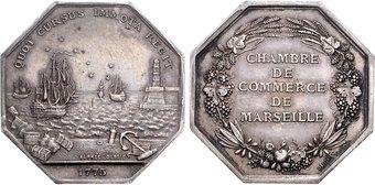 Numisbids emporium hamburg auction 70 14 15 november 2013 french jetons - Chambre de commerce marseille ...