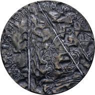 Medaille Silberbriefmarke 25 Jahre Papst Johannes Paul Ii Im Sammelalbum