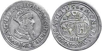 Afbeeldingsresultaat voor 4 groschen 1566