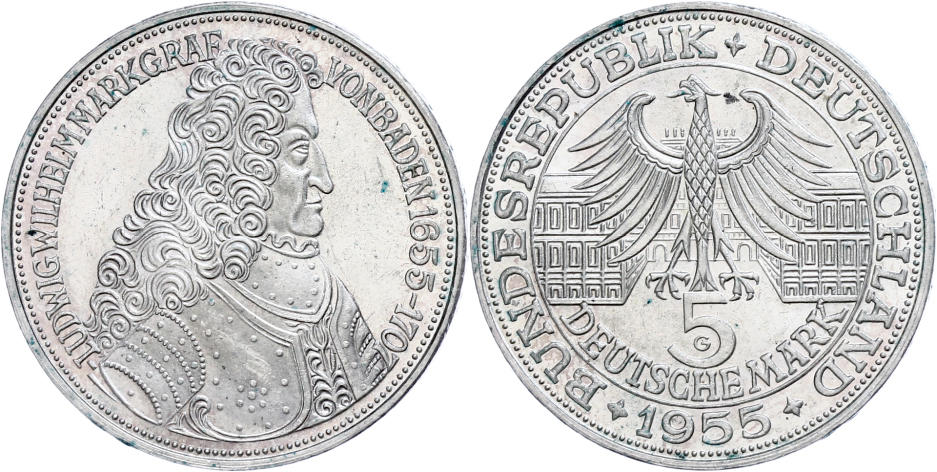 Numisbids Dr Reinhard Fischer Auction 163 Lot 410 Münzen Bund