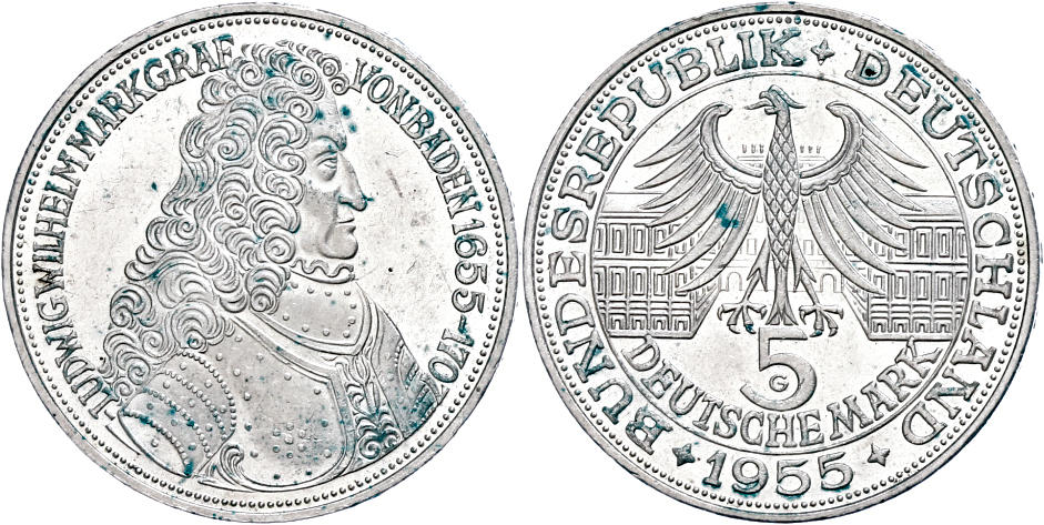 Numisbids Dr Reinhard Fischer Auction 164 Lot 197 Münzen Bund