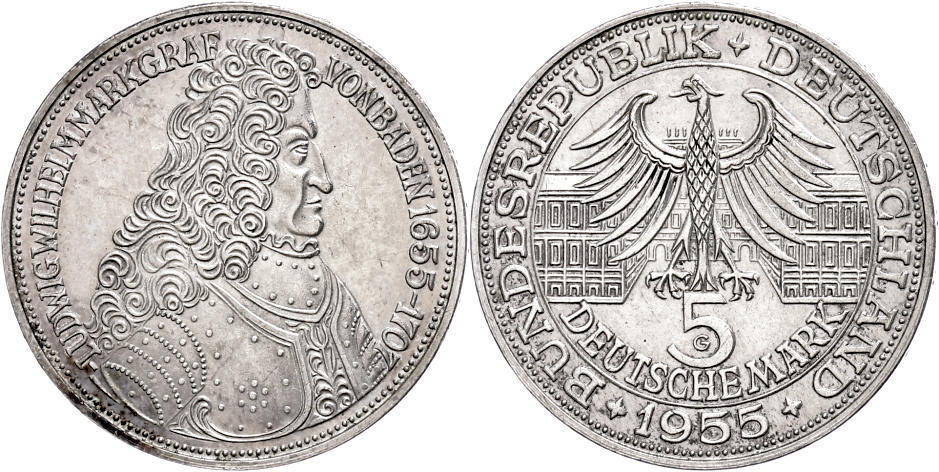 Numisbids Dr Reinhard Fischer Auction 166 Lot 198 Münzen Bund
