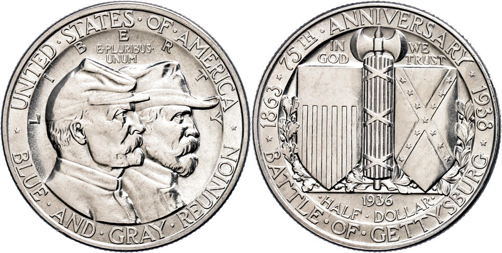 BROOKER Manschettenkn/öpfe Medallion Silber