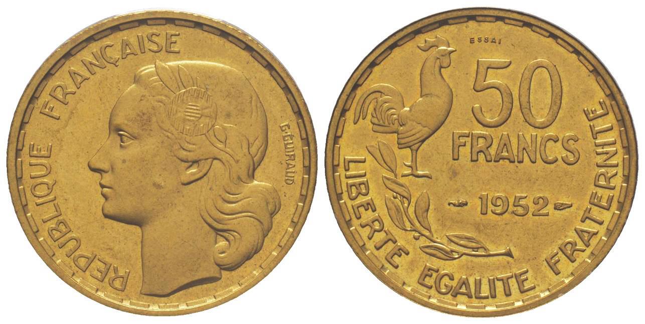 etat FRANCE  10 francs  1957    GUIRAUD