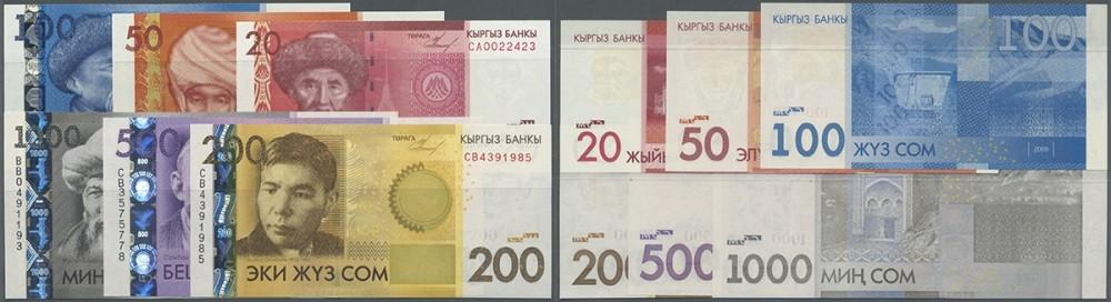 Croatia 1991-1993 UNC Paper Money Banknote 7 Pieces Set