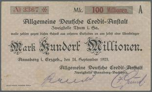 NumisBids: Christoph Gärtner GmbH & Co. KG Auction 34 - Banknotes ...