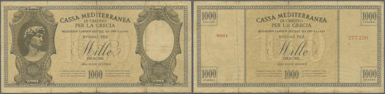 GREECE LOT 5x 100 DRACHMAI 1941  P 116 VF-XF CONDITION