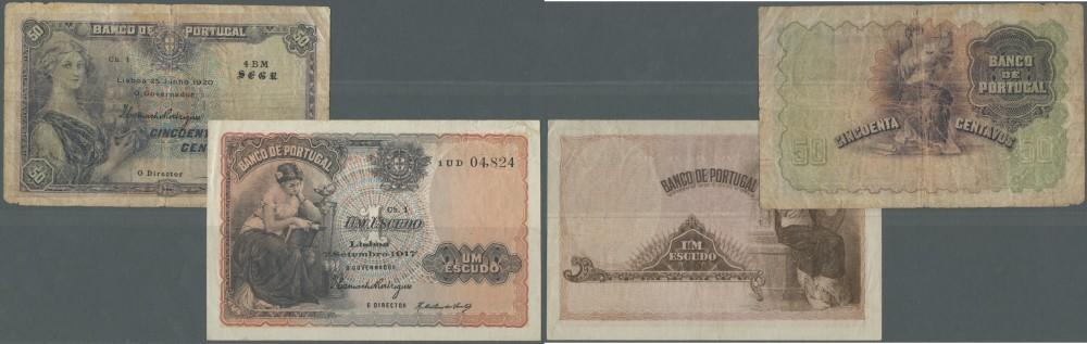 PORTUGAL 20 ESCUDOR 1971 P 173 F//VF