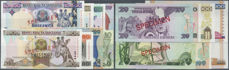 1985 Tanzania 20 Shillings UNC Banknotes ND Original P-9