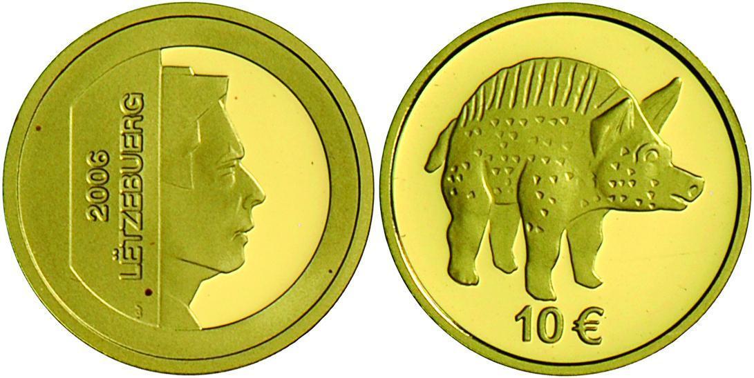 luxemburg lot 4 x 10 euro gold 2004 2006 2011 2013 gold 999 je 3 1 g alle mit zertifikat und originalschatulle