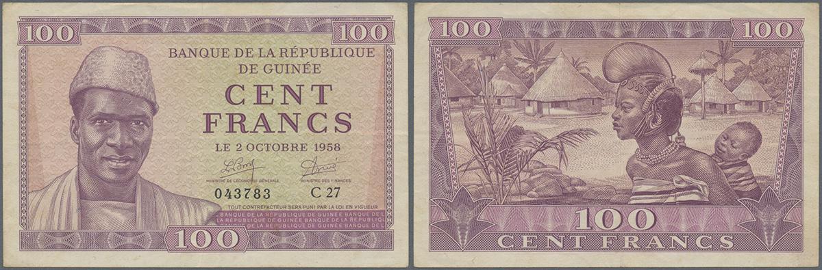 """P-94 AUNC /""""ORIGINAL/""""  No Pinholes FRANCE 100 Francs 1940"""
