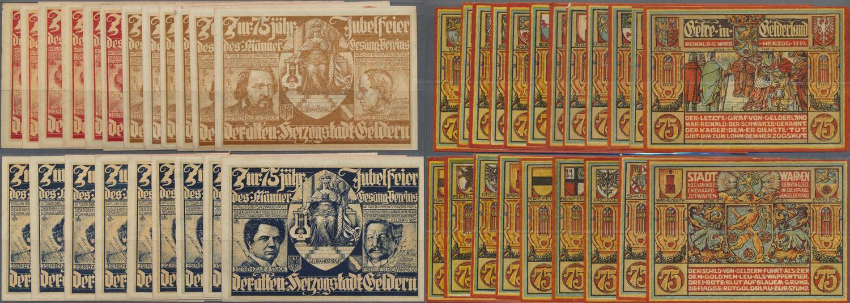 Hadersfeld 1920 wood notgeld,10 heller brown reverse with red overprint Austria