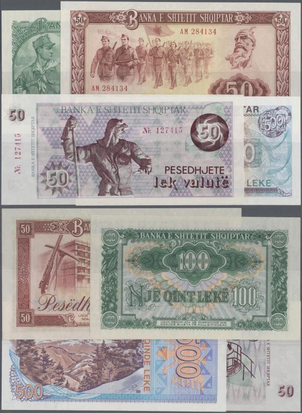 Bulgaria 6 Banknote Set Very Nice Uncirculated Condition,3,10,25,50,100 200 Leva