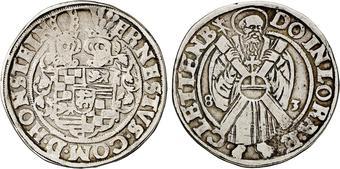Afbeeldingsresultaat voor Thaler 1583 hohnstein ernst VII