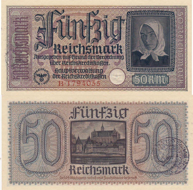GERMANY 500 MARK 1922 P 74 AU-UNC