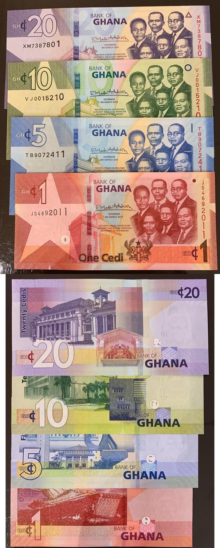 GHANA 20 CEDIS 2015 P 40 UNC