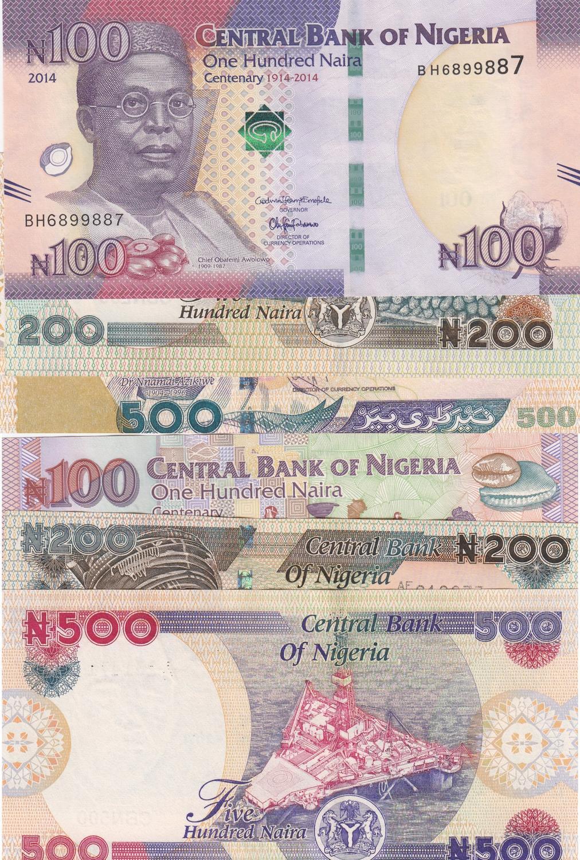 NIGERIA 200 NAIRA 2014 P 29 UNC