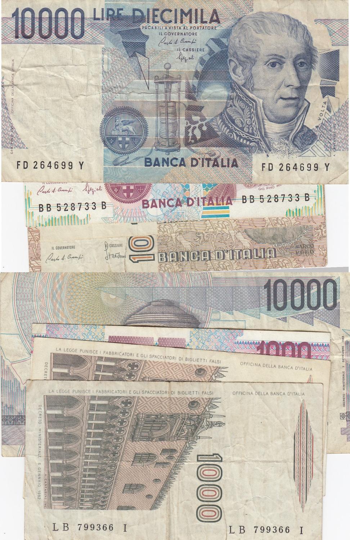 VF Italy P 109 a 1000 Lire 1982