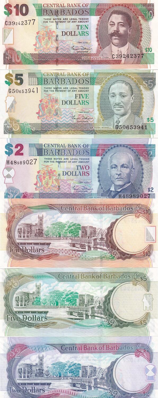 Barbados 20 Dollars UNC 2007 P-69