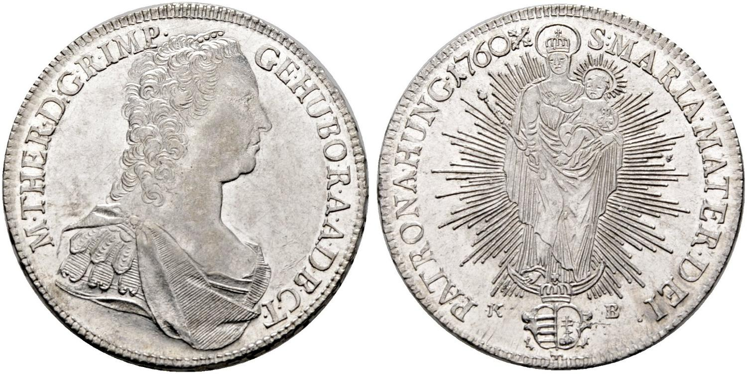 Numisbids Hd Rauch Auction 106 Lot 1407 Maria Theresia 1740