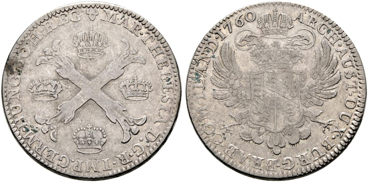Numisbids Hd Rauch E Auction 27 Lot 959 D Maria Theresia