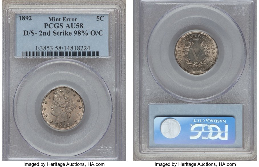 NumisBids: Heritage World Coin Auctions CSNS Signature US