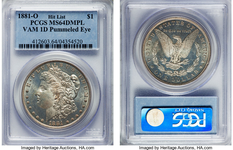 NumisBids: Heritage World Coin Auctions Dallas Signature US