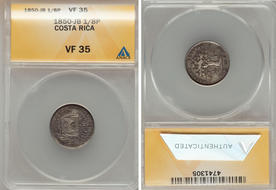 COSTA RICA--1976 CirculatedUngraded-Closeout -50 Centavo Coin-VG