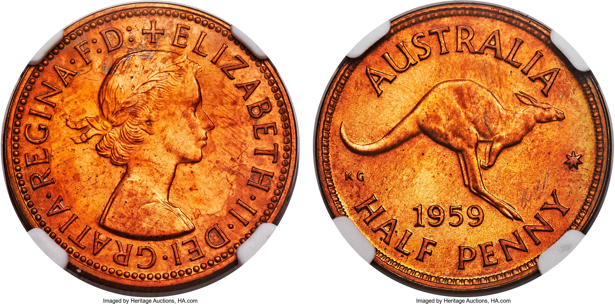 Isle Of Man 1//2 Penny 1980 coin UNC km58