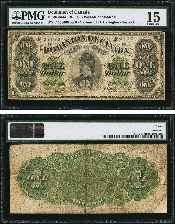 Brilliant Bahamas 1 Dollar 1968 Pick 27a Amerika Papiergeld Welt 3