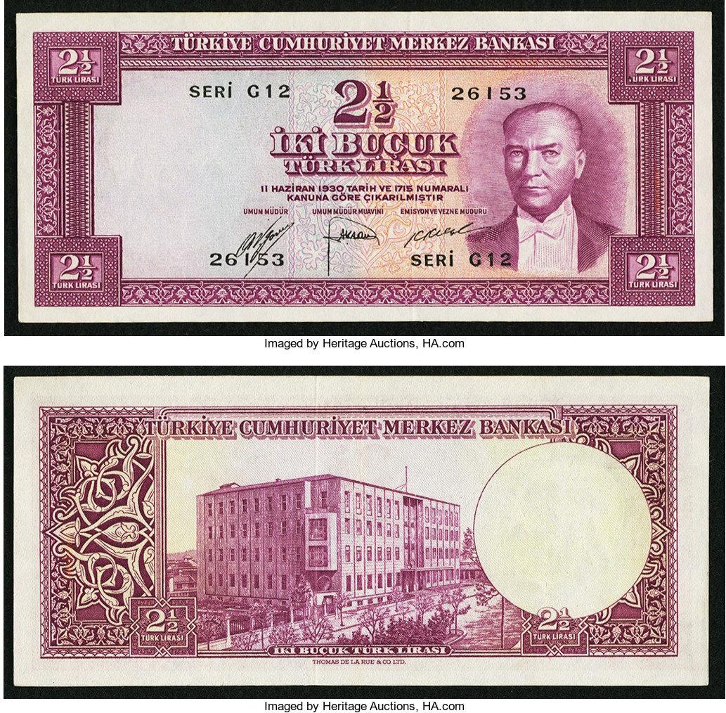 Turkiye cumhuriyet merkez bankasi currency value