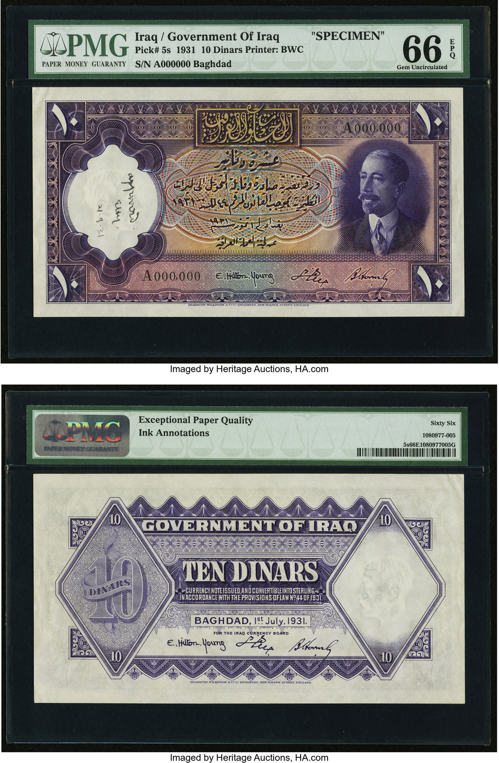 Africa Earnest Egypt 10 Egption Piastres Banknote Serial Number In Photo No 005 Uncirculated