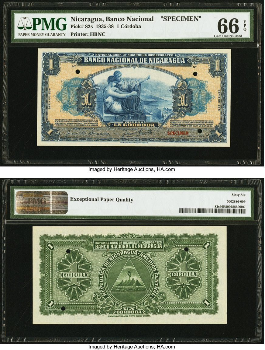 Numisbids Heritage World Coin Auctions Fun Signature Currency Sale 4008 10 14 Jan 2019