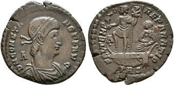 Römische Münzen Charitable Constantine Ii Follis Römische Münzen Antike Rom Ancient Roman Coin High Grade
