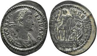 Münzen Altertum Charitable Constantine Ii Follis Römische Münzen Antike Rom Ancient Roman Coin High Grade Römische Münzen