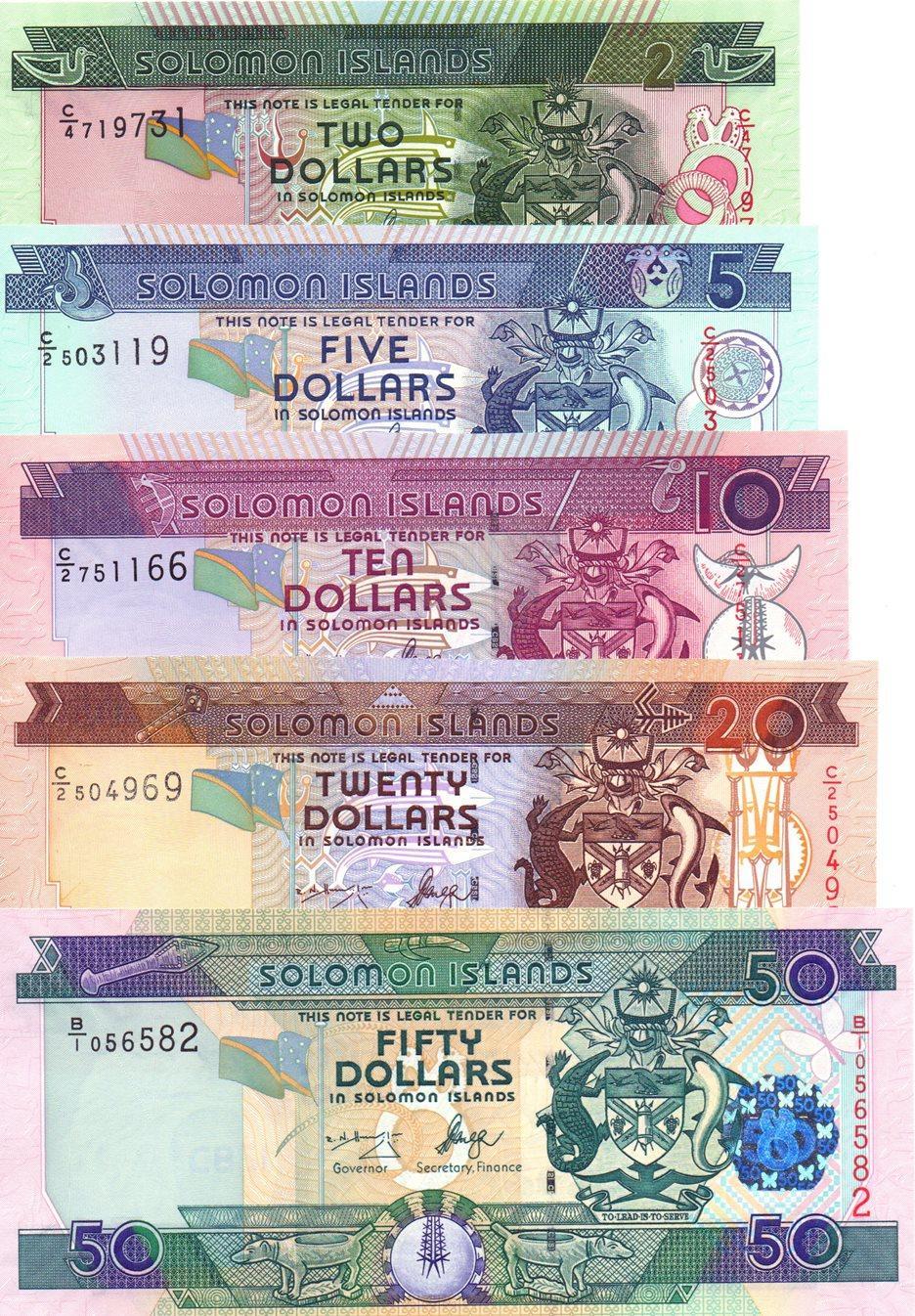 Solomon Islands 100 Dollars 2009 UNC P-30b