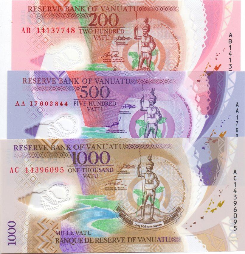 Vanuatu 500 Vatu p-12 2017 UNC Banknote